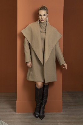 Maxi Casaco de Lã