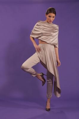 Blusa Cetim toque de seda